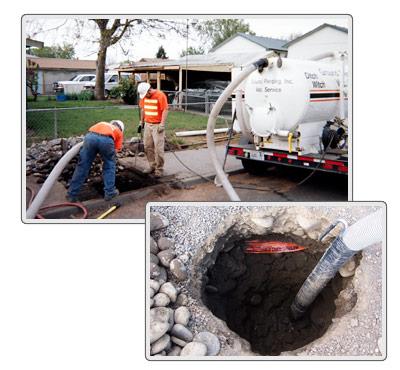vacuum dig excavtation